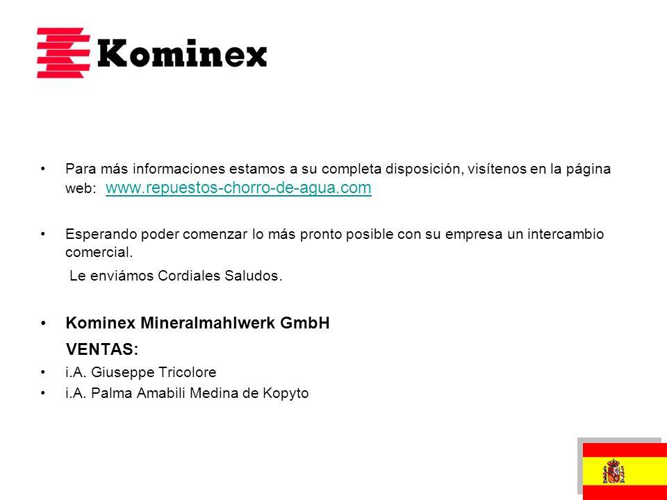 VENTAS: Kominex Mineralmahlwerk GmbH