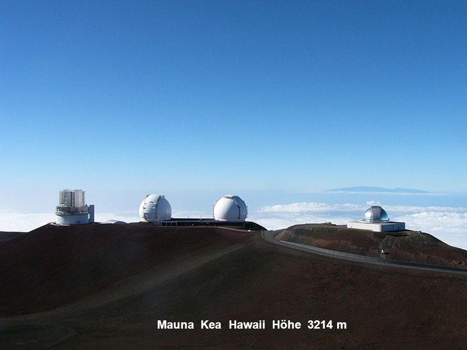 Mauna Kea Hawaii Höhe 3214 m
