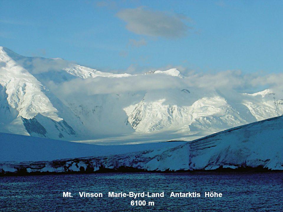 Mt. Vinson Marie-Byrd-Land Antarktis Höhe 6100 m