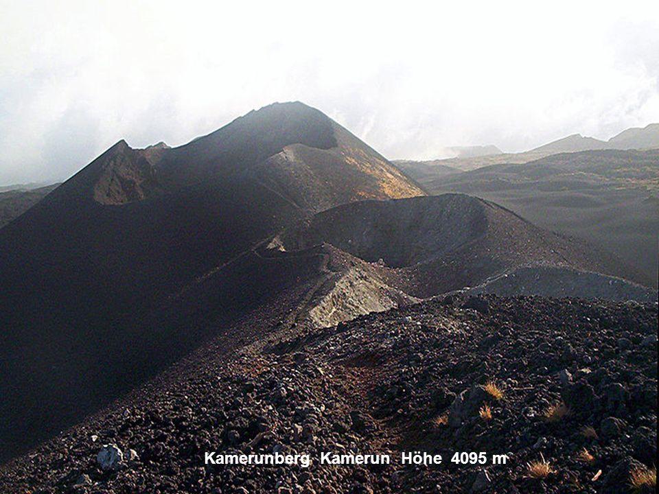 Kamerunberg Kamerun Höhe 4095 m