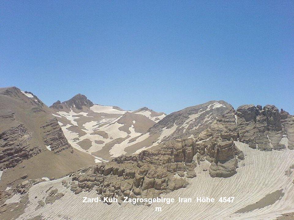 Zard- Kuh Zagrosgebirge Iran Höhe 4547 m
