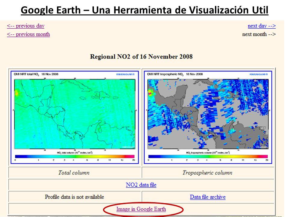 Google Earth – Una Herramienta de Visualización Util