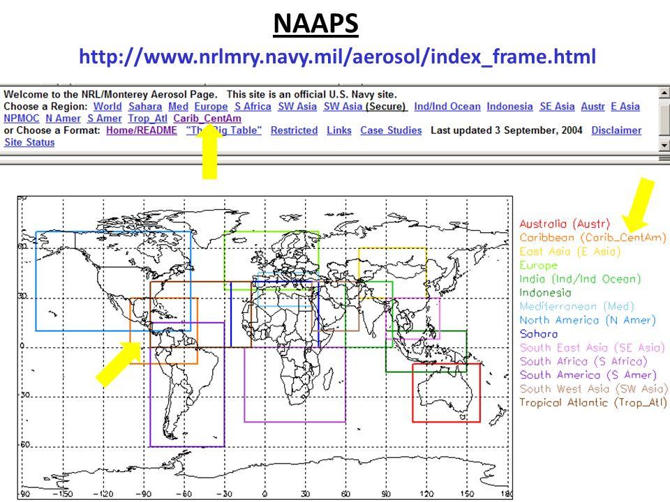NAAPS http://www.nrlmry.navy.mil/aerosol/index_frame.html