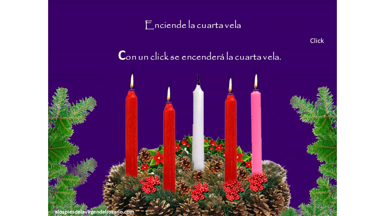 Cuarto domingo de adviento significado de la cuarta vela ppt video online descargar - Velas adviento ...