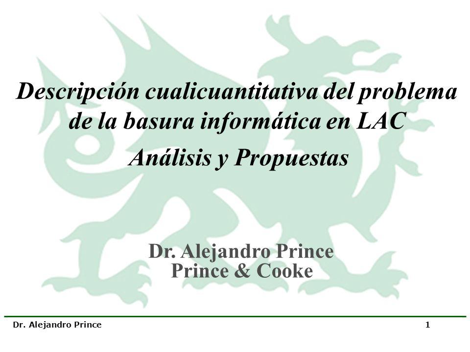 Descripción cualicuantitativa del problema de la basura informática en LAC