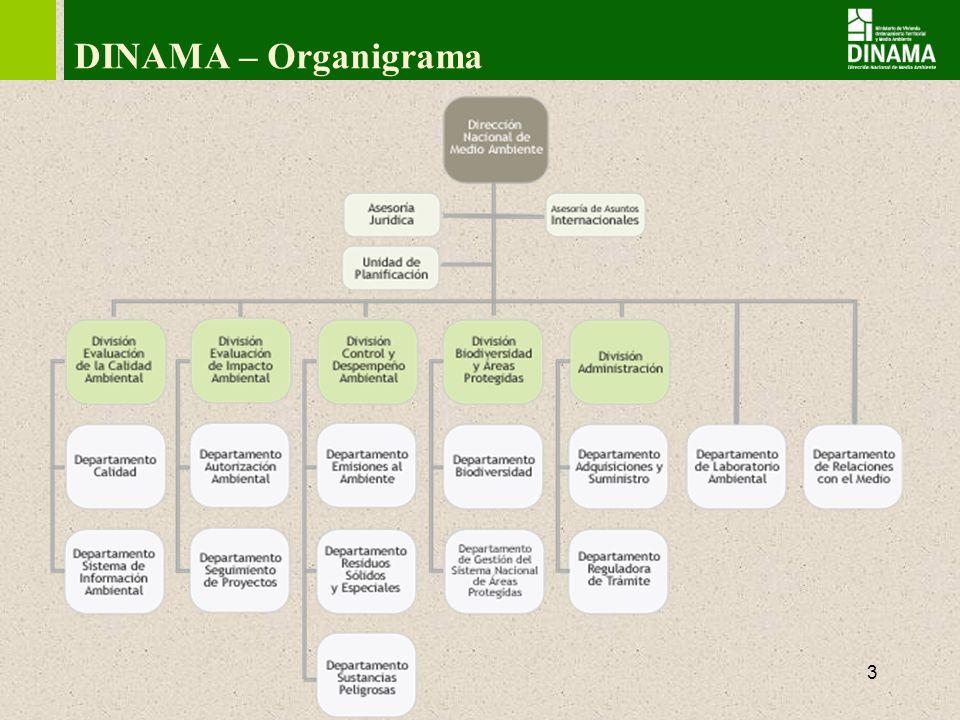 DINAMA – Organigrama 3