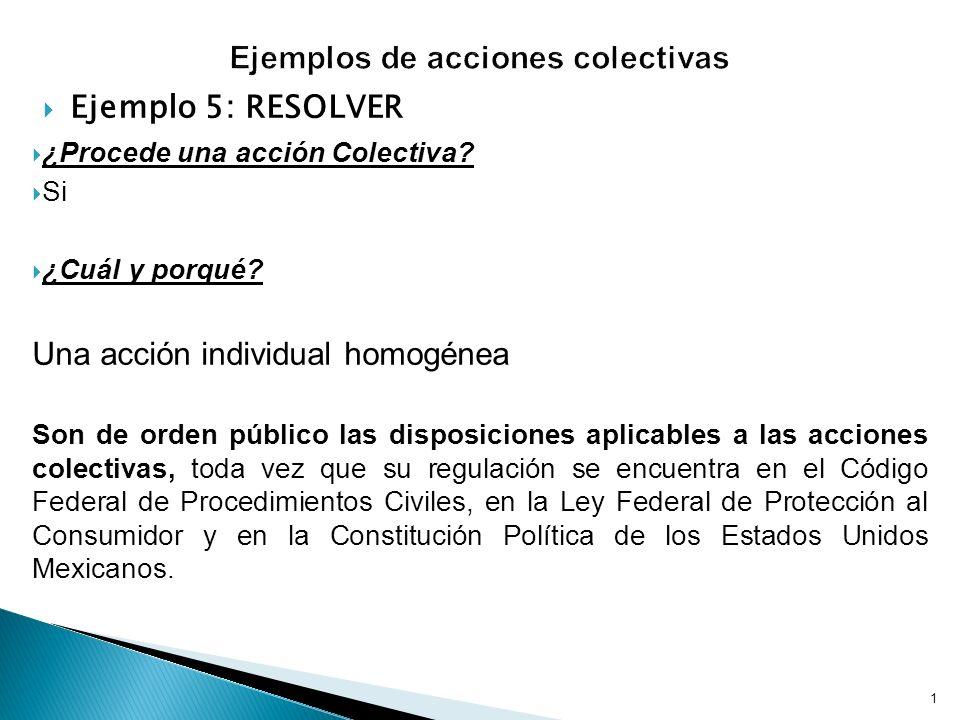 Ejemplos de acciones colectivas - ppt descargar
