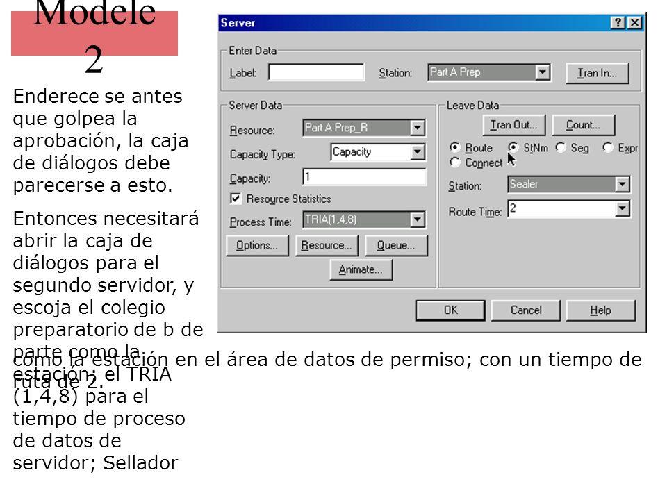 Modele 2 Enderece se antes que golpea la aprobación, la caja de diálogos debe parecerse a esto.