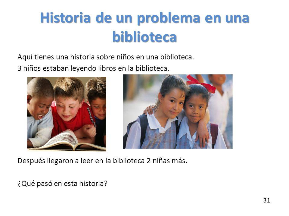 Historia de un problema en una biblioteca