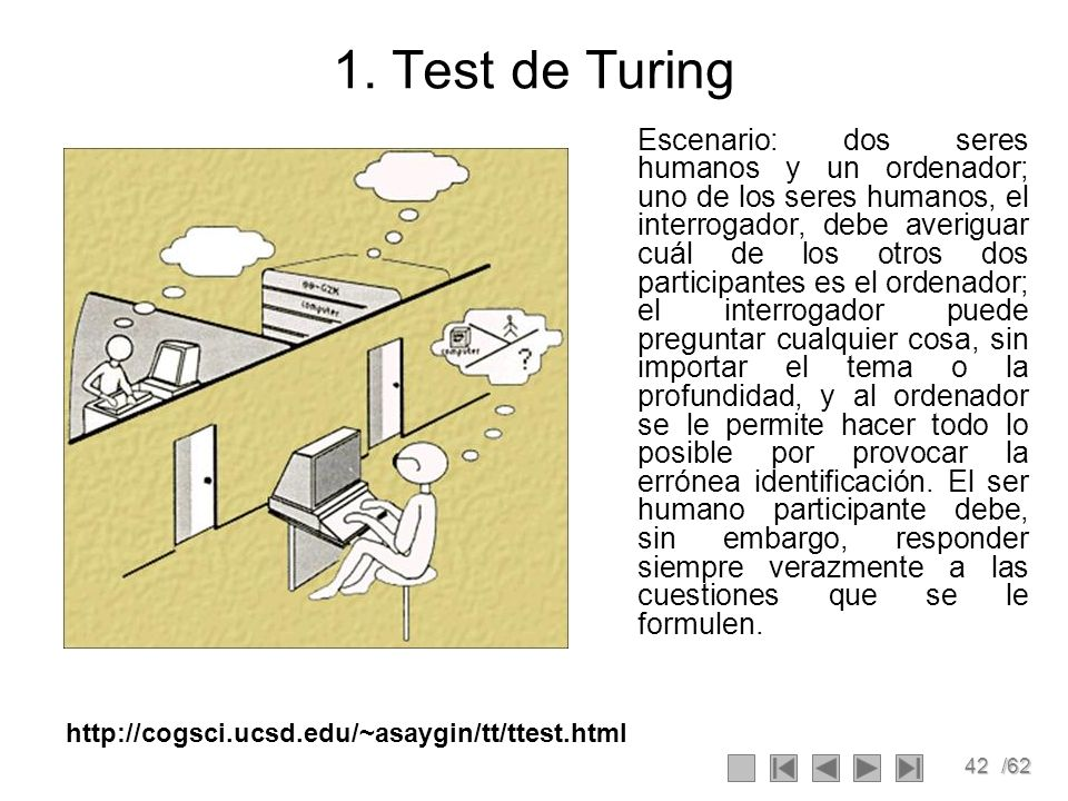 1. Test de Turing