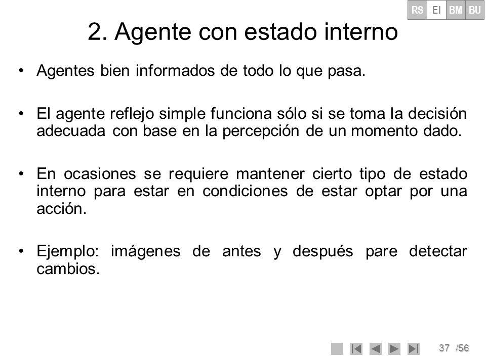 2. Agente con estado interno