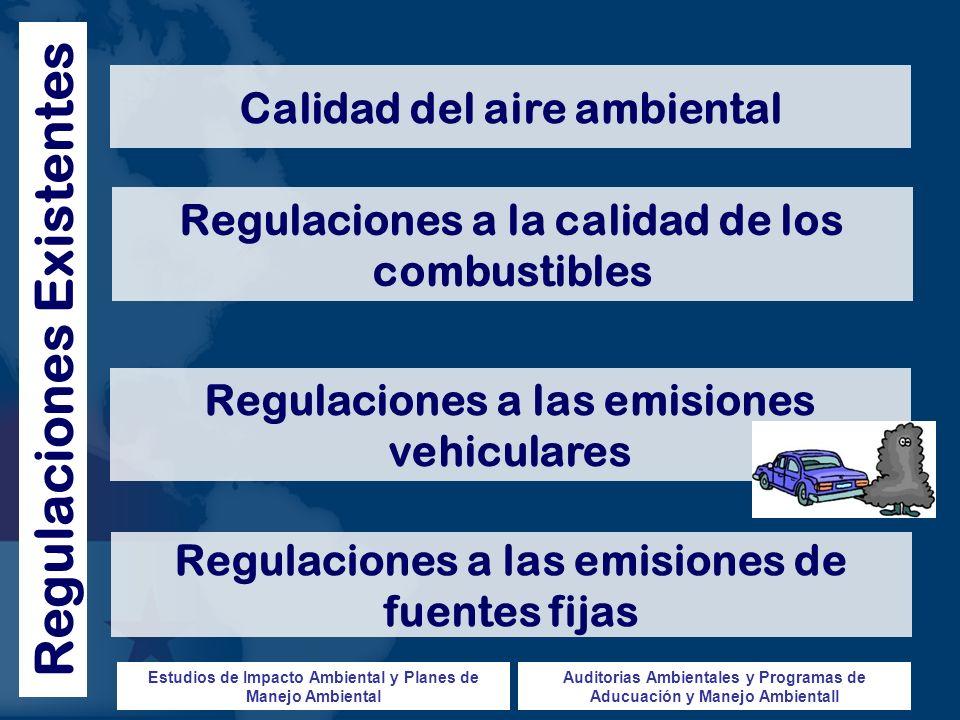 Regulaciones Existentes