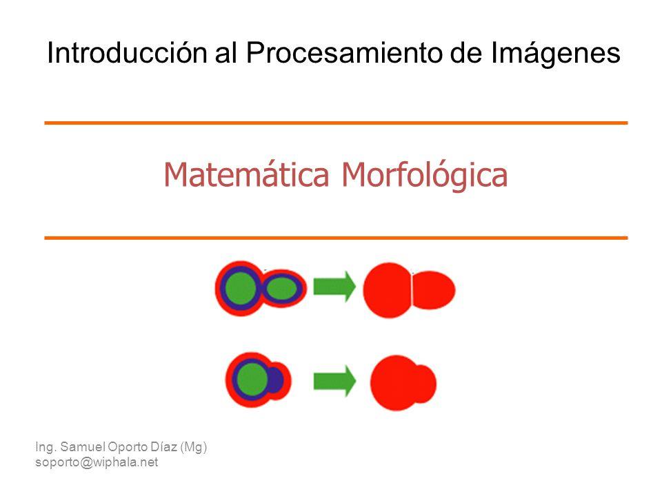 Matemática Morfológica