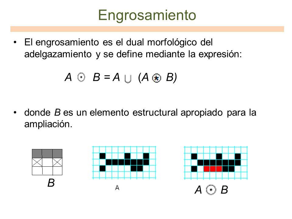 Engrosamiento A B = A (A B) B A B