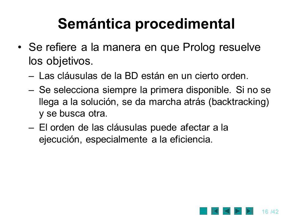 Semántica procedimental