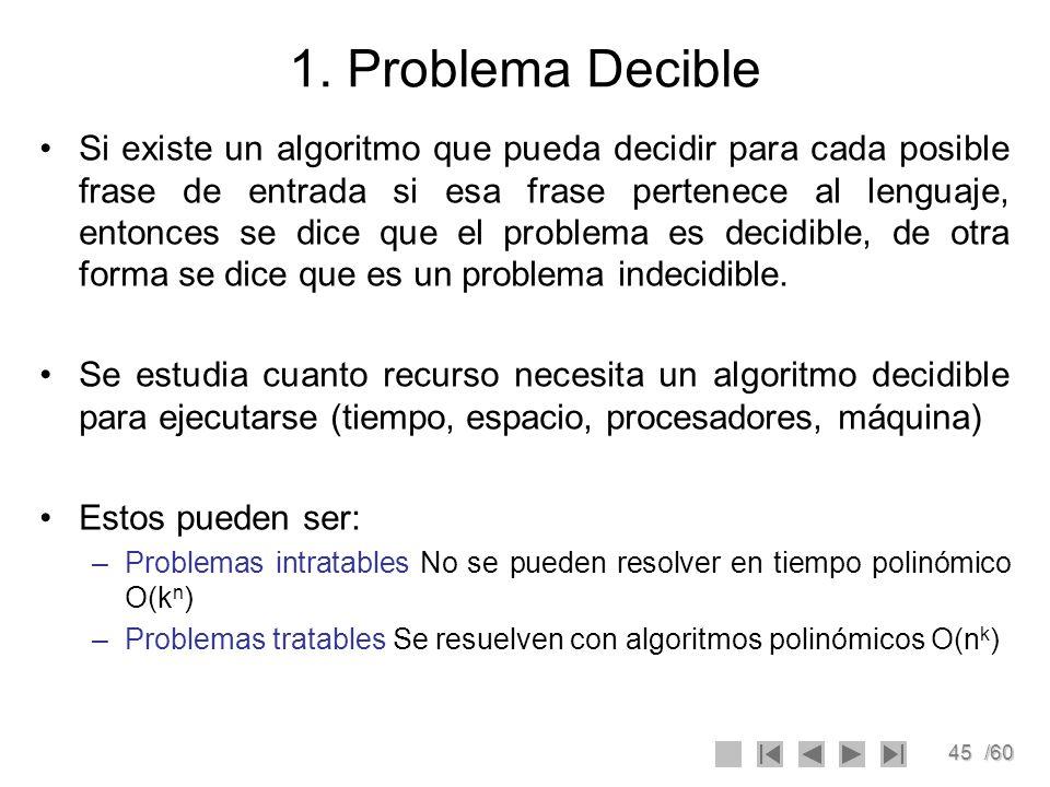 1. Problema Decible