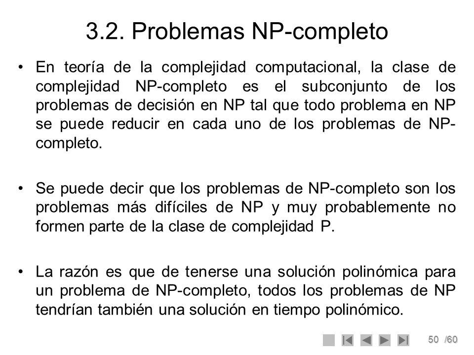 3.2. Problemas NP-completo