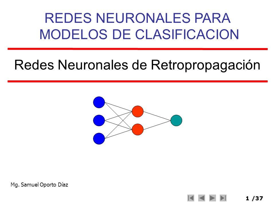 Redes Neuronales de Retropropagación