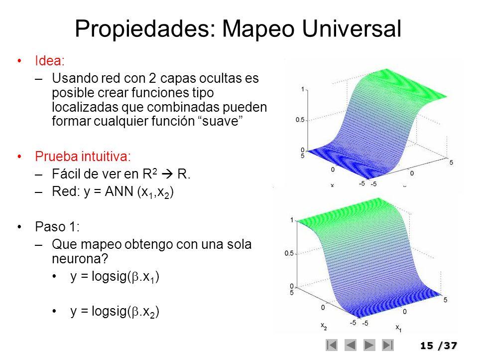 Propiedades: Mapeo Universal