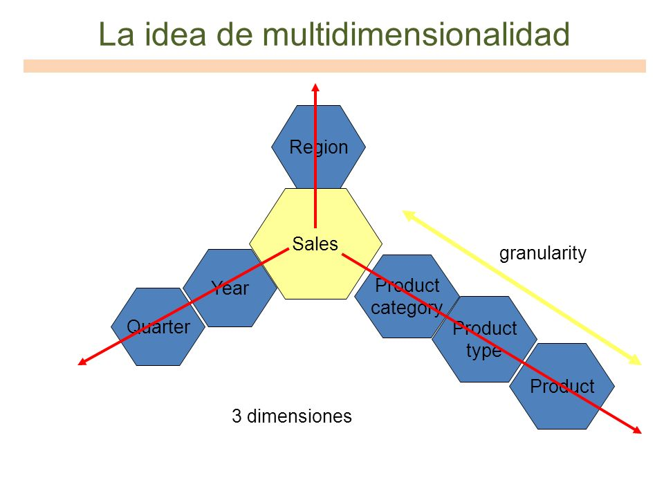 La idea de multidimensionalidad