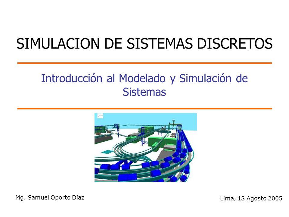 Introducción al Modelado y Simulación de Sistemas