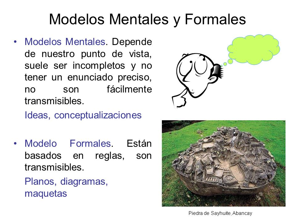 Modelos Mentales y Formales