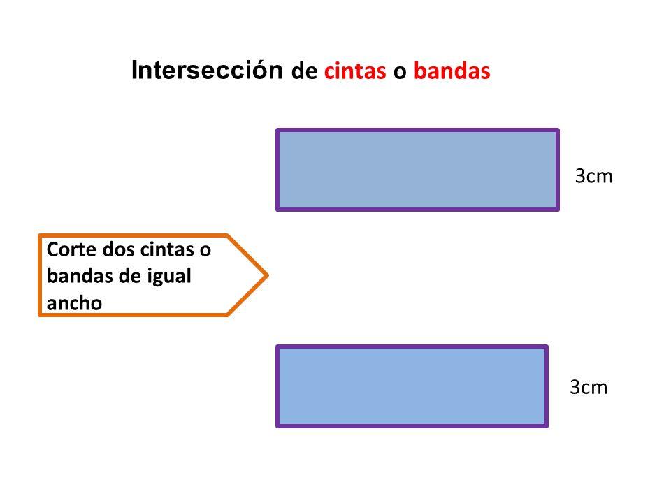 Intersección de cintas o bandas