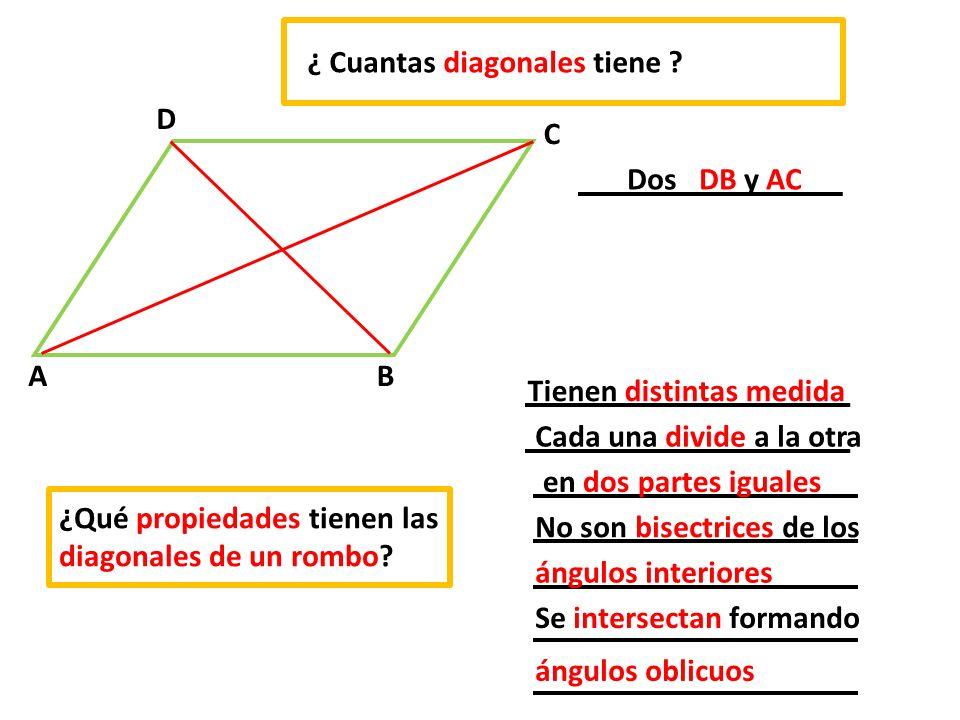 ¿ Cuantas diagonales tiene