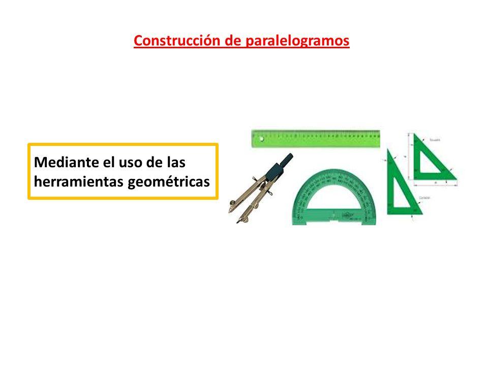 Construcción de paralelogramos