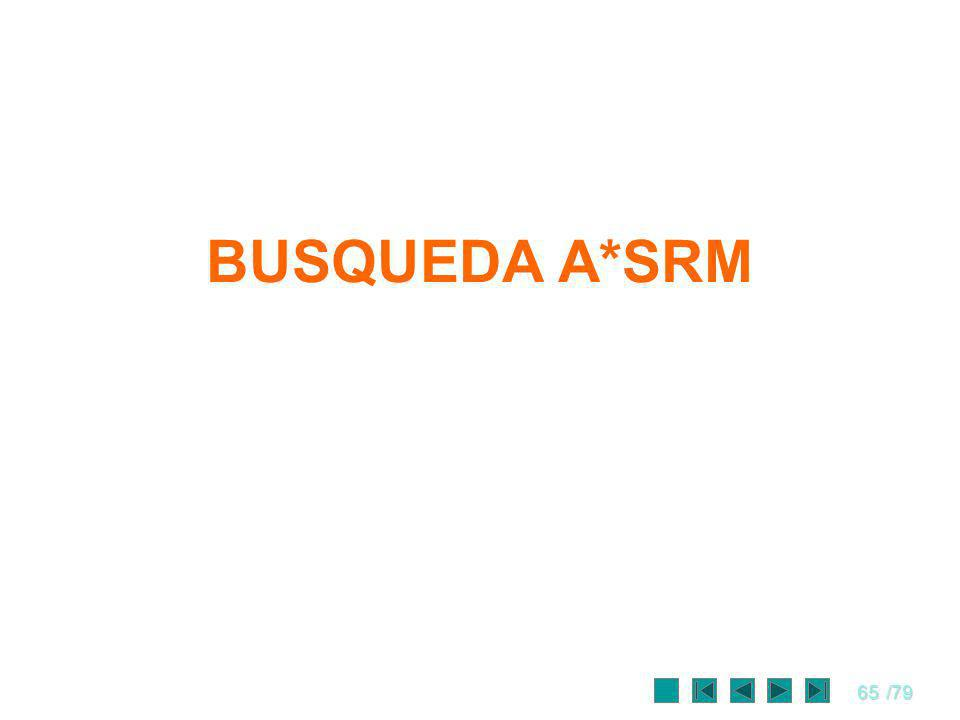 BUSQUEDA A*SRM