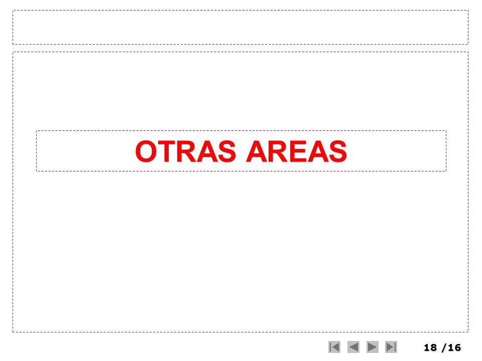 OTRAS AREAS
