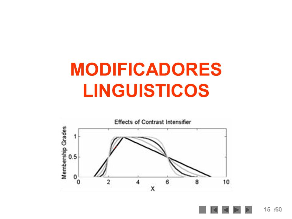 MODIFICADORES LINGUISTICOS