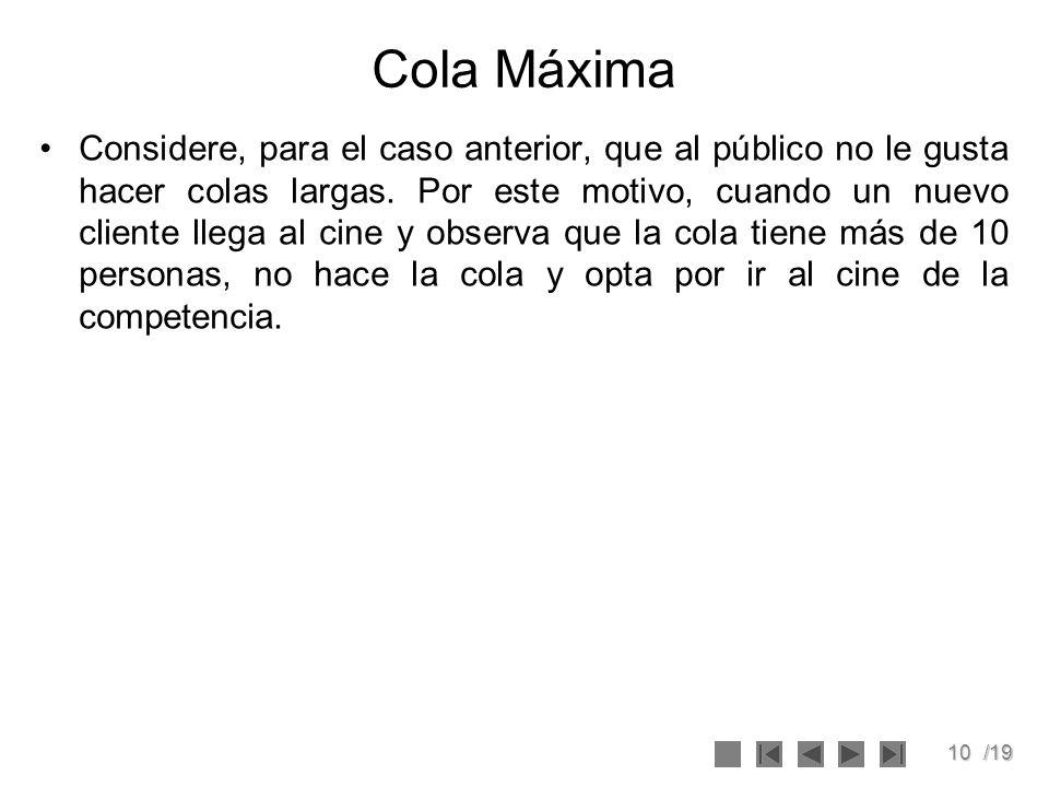 Cola Máxima
