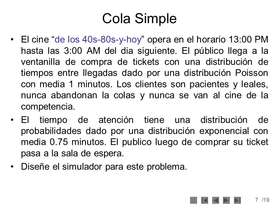 Cola Simple