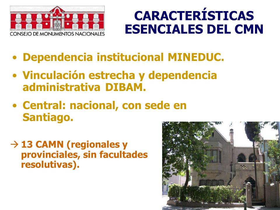 CARACTERÍSTICAS ESENCIALES DEL CMN