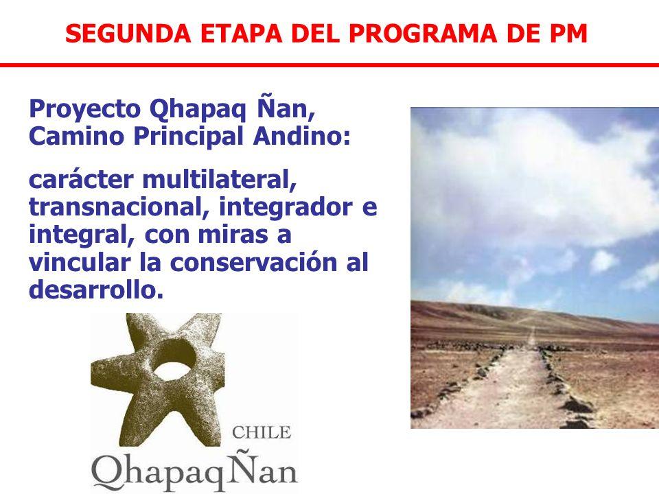 SEGUNDA ETAPA DEL PROGRAMA DE PM