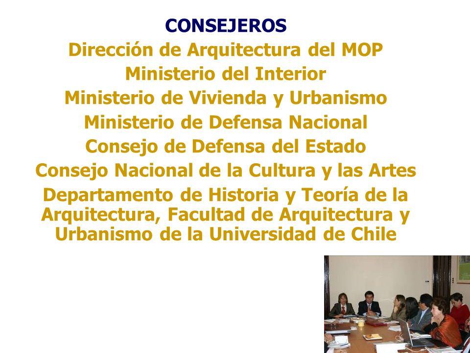 Dirección de Arquitectura del MOP Ministerio del Interior