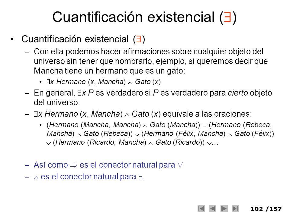 Cuantificación existencial ()
