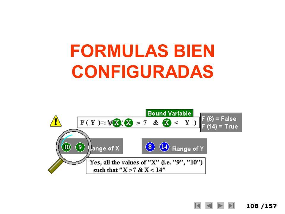 FORMULAS BIEN CONFIGURADAS