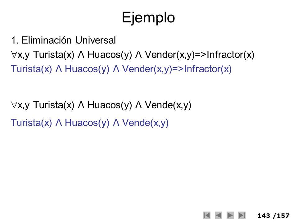 Ejemplo 1. Eliminación Universal