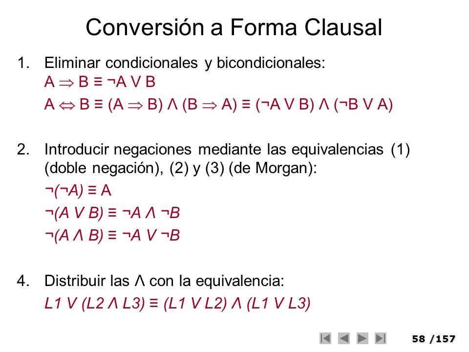 Conversión a Forma Clausal