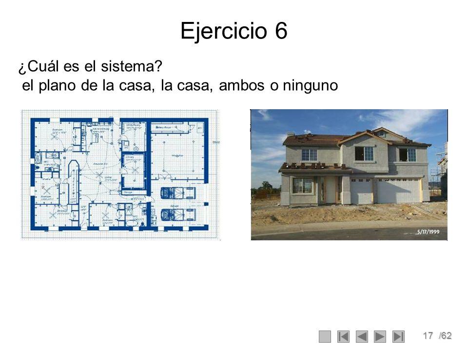 Ejercicio 6 ¿Cuál es el sistema