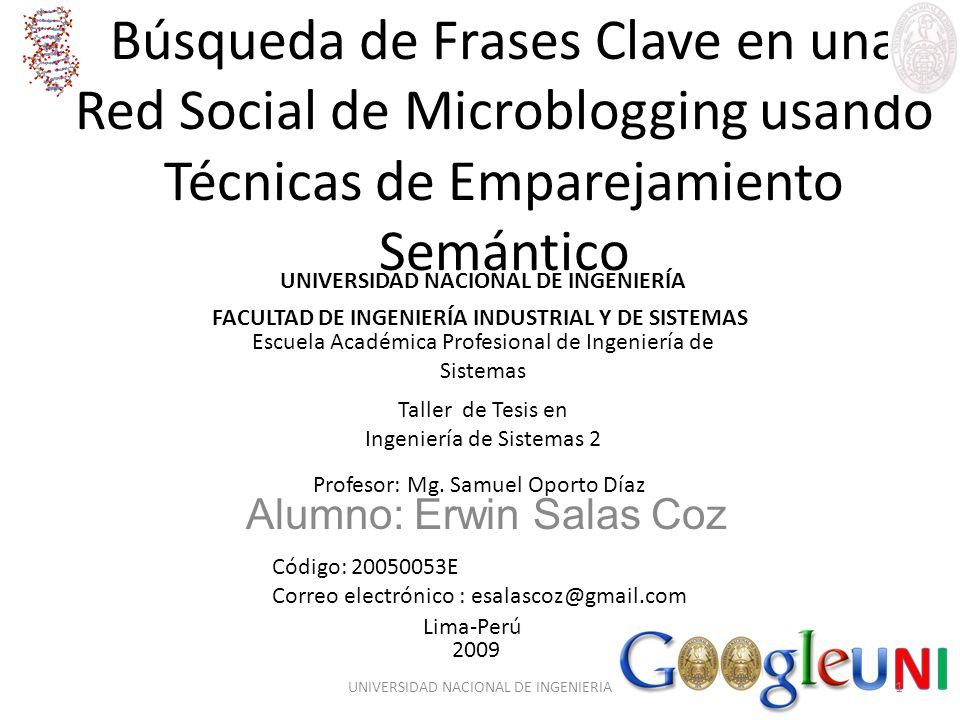 Búsqueda de Frases Clave en una Red Social de Microblogging usando Técnicas de Emparejamiento Semántico