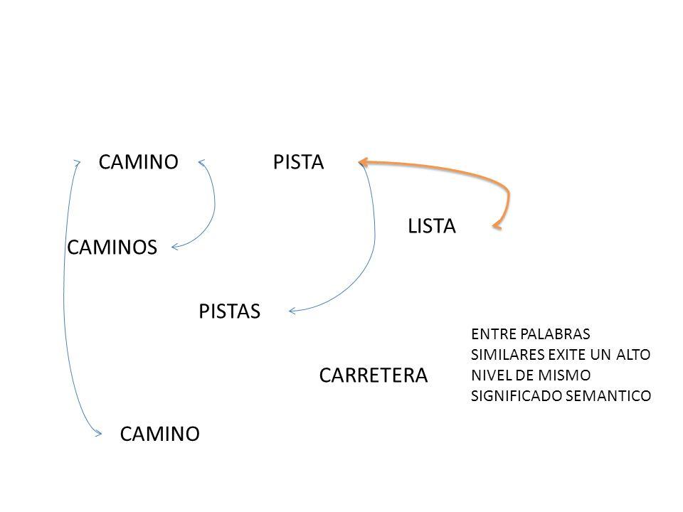 CAMINO PISTA LISTA CAMINOS PISTAS CARRETERA CAMINO