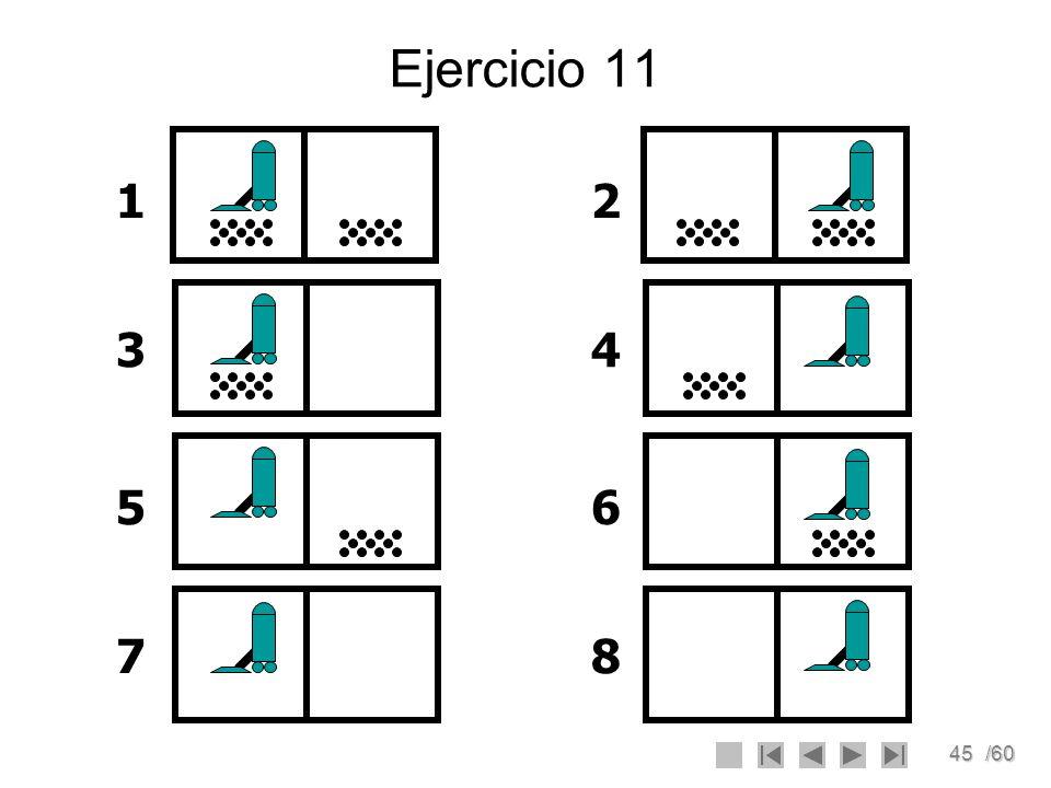Ejercicio 11 1 2 3 4 5 6 7 8