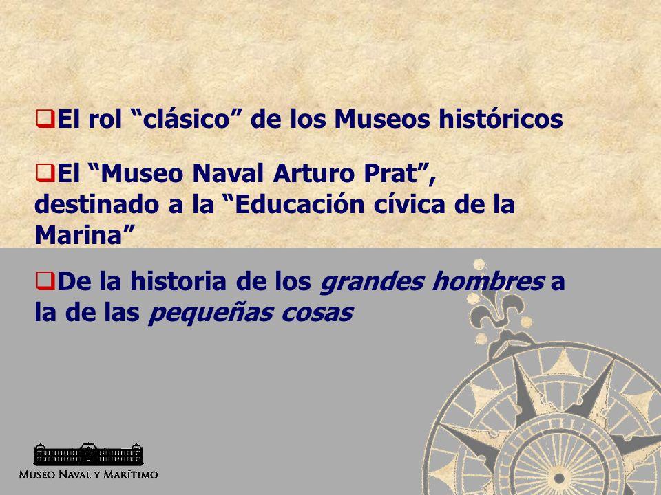 El rol clásico de los Museos históricos
