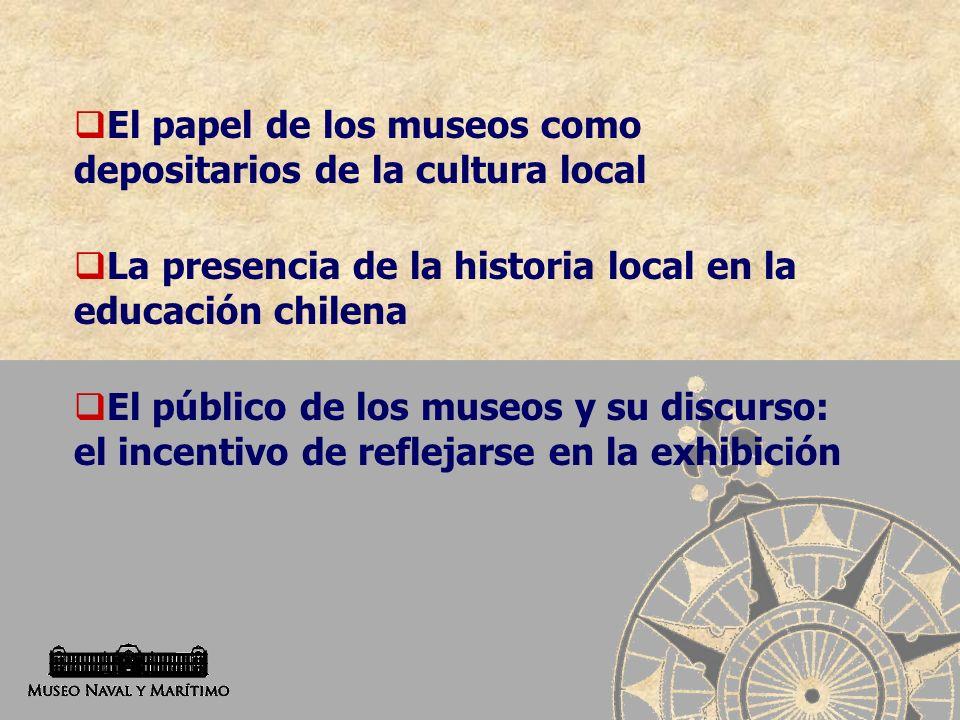 El papel de los museos como depositarios de la cultura local