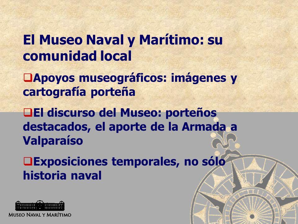 El Museo Naval y Marítimo: su comunidad local
