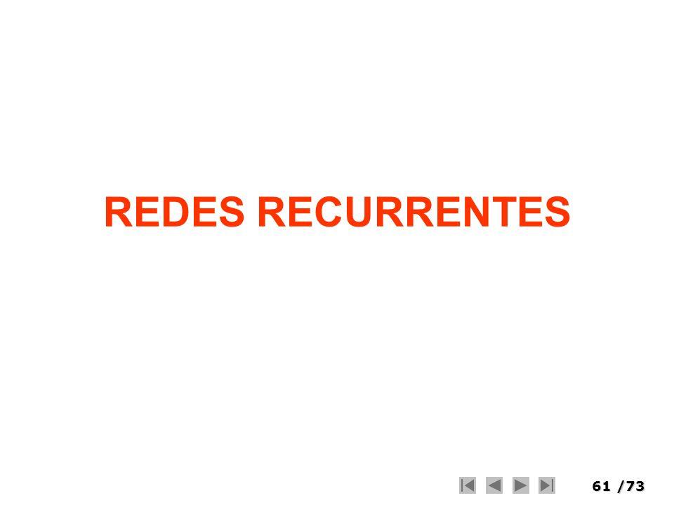 REDES RECURRENTES
