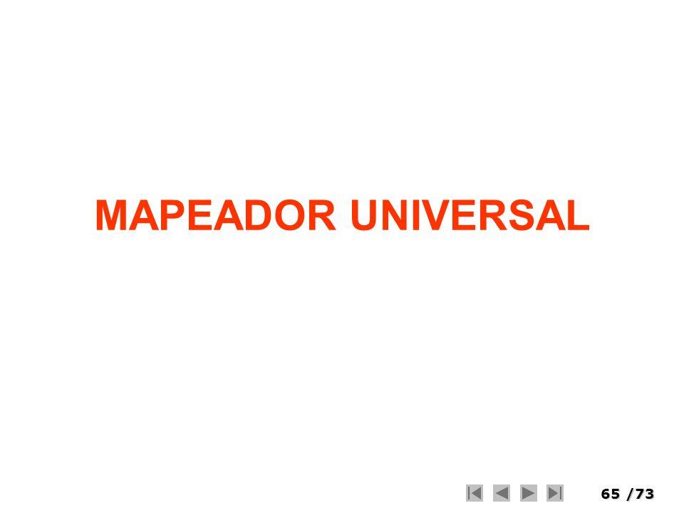 MAPEADOR UNIVERSAL